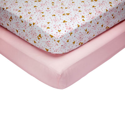 Nojo She'S So Lovely 2-pc. Crib Sheet