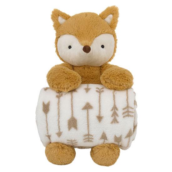 Nojo Rust Plush Fox