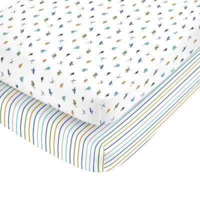Carter's 2 Pack Crib Sheet