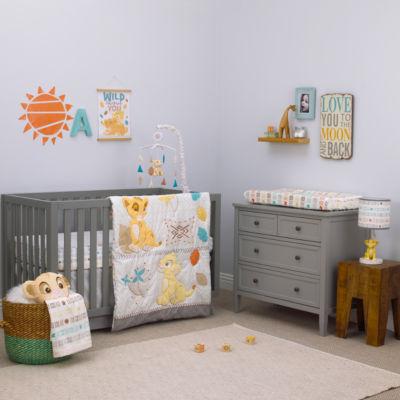 Lion King Circle of Life 3-pc Crib Bedding Set