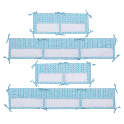 Ariel Sea Princess Microfiber Crib Liner