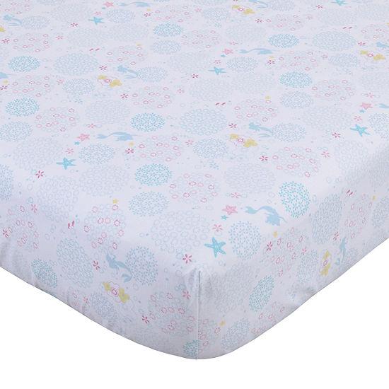 Disney Princess Ariel Sea Princess 1 Pair The Little Mermaid Crib Sheet
