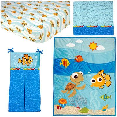 Disney Finding Nemo 4-pc. Crib Bedding Set