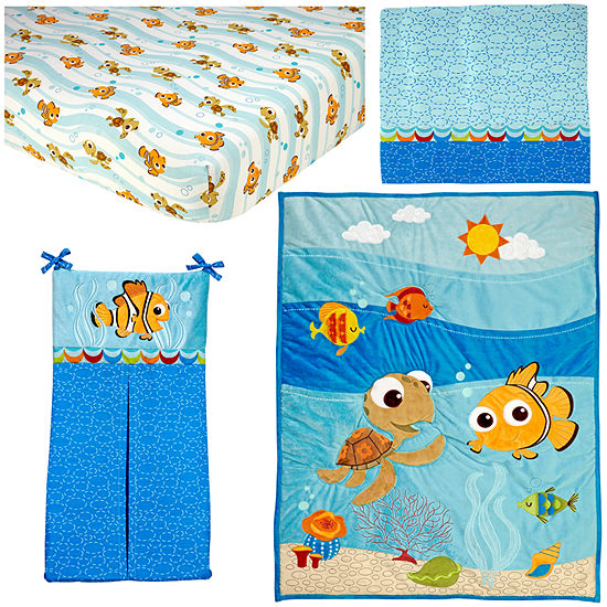 Disney Nemo 4-pc. Finding Nemo Crib Bedding Set