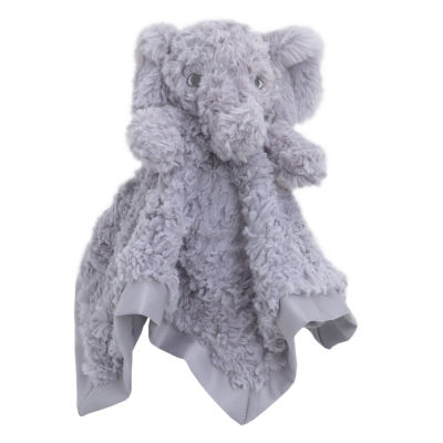 Cuddle Me Security Blanket - Gray Elephant