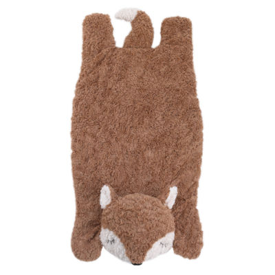 Cuddle Me Cuddle Plush Tummy Time Play Mat - Brown Fox