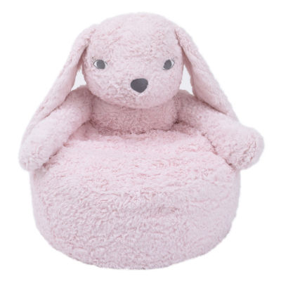 Cuddle Me Plush Bunny Chair - Pink