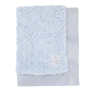 Cuddle Me Luxury Plush Blanket - Blue