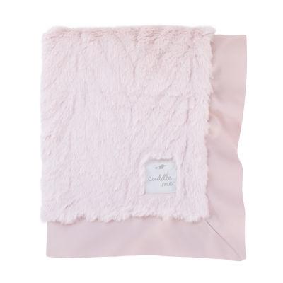 Cuddle Me Luxury Plush Chevron Blanket - Pink