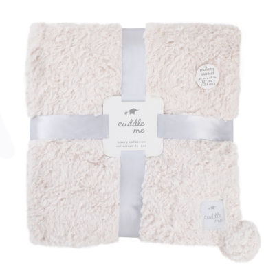Cuddle Me Luxury Plush Blanket - Ivory