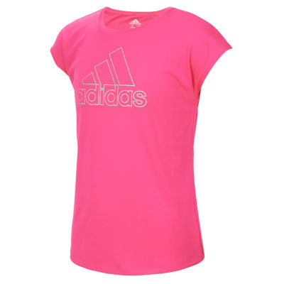 adidas Graphic T-Shirt-Preschool Girls