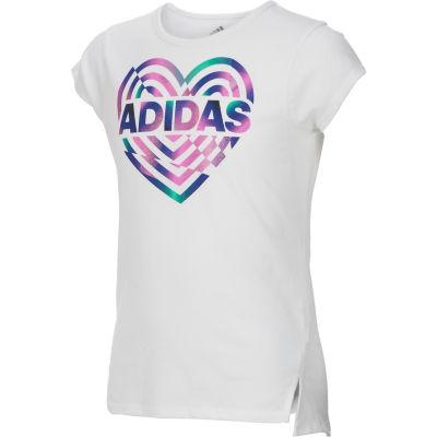 adidas Graphic T-Shirt-Preschool Girls