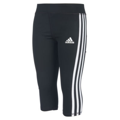 adidas Knit Capri Leggings - Preschool Girls