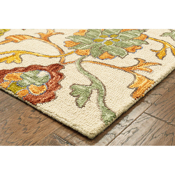 Lavish Contemporary Jacobean Rectangular Rug
