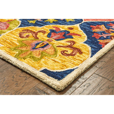 Lavish Contemporary Quatrefoil Rectangular Rug