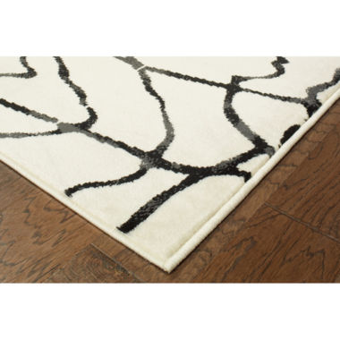 Matrix Modern Geometric Rectangular Rug