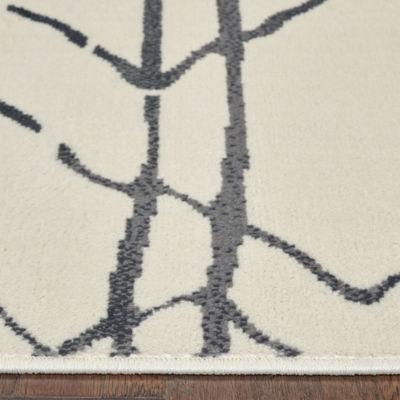 Matrix Modern Geometric Rectangular Rug