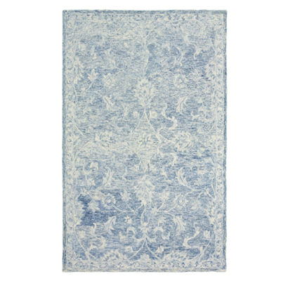 Karma Contemporary Jacobean Rectangular Rug
