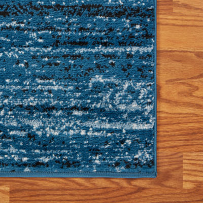 Matrix Modern Striped Rectangular Rug