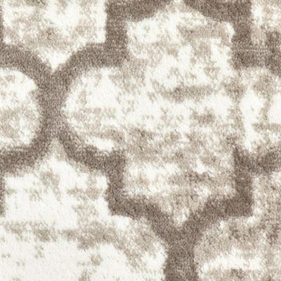 Matrix Distressed Quatrefoil Rectangular Rug