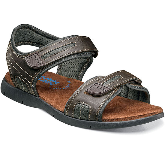 Nunn Bush Rio Grande Men's River Open Toe Two Strap Sandals