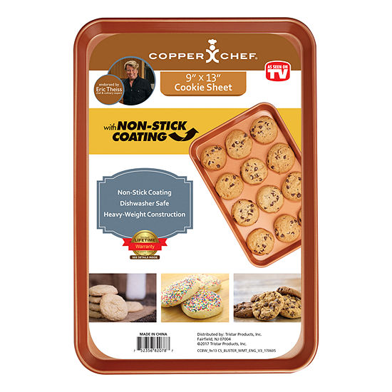 As Seen On Tv Copper Chef Small Cookie Sheet