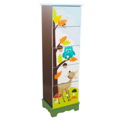 Fantasy Fields- Enchanted Woodland 5 Drawer Cabinet