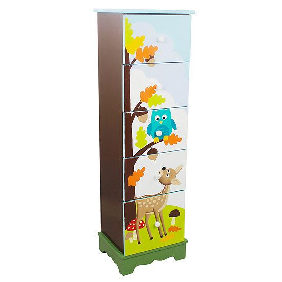 Fantasy Fields- Enchanted Woodland 5 Drawer Cabinet