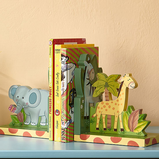Fantasy Fields Sunny Safari Set Of Bookends