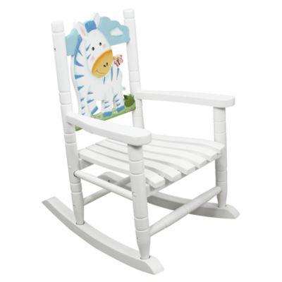 Teamson Kids Safari Rocking Chair Zebra
