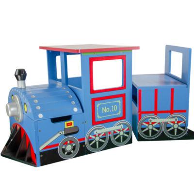 Teamson Kids Trains & Trucks Train Writing Desk
