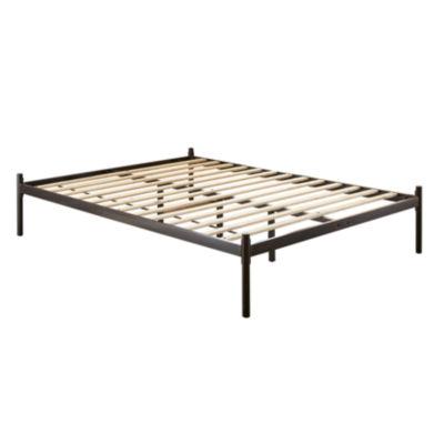 Dream Innovations Kurtis Black Contempo Platform Bed Frame