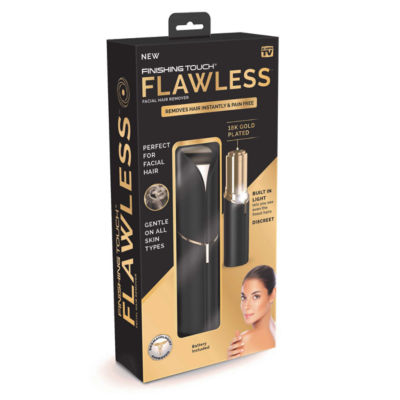 As Seen On TV Finishing Touch Flawless Black Hair Remover