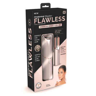 As Seen On TV Finishing Touch Flawless Blush Hair Remover