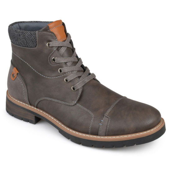 Vance Co Manzo Mens Lace Up Boots