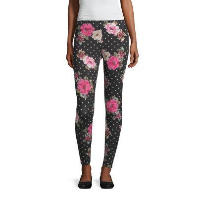 Mixit Floral Print Womens Slim Legging