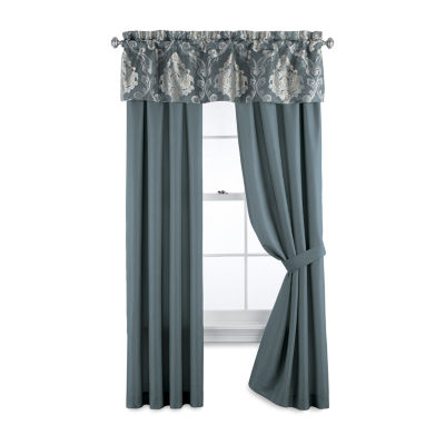 JCPenney Home Kagan Light-Filtering Rod-Pocket Curtain Panel