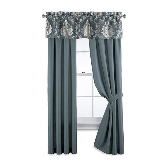 JCPenney Home Kagan Light-Filtering Rod-Pocket Curtain Panel