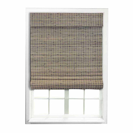 RADIANCE CORDLESS PRIVACY WEAVE ROMAN SHADE