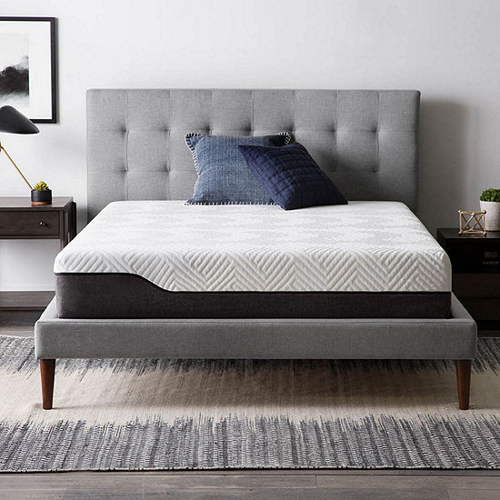 Lucid10 in. Bamboo Charcoal and Aloe Vera Hybrid Mattress