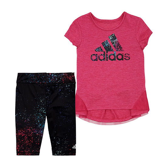 adidas Girls 2-pc. Pant Set