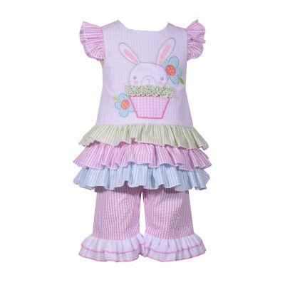 Bonnie Jean Bunny 2-pc. Legging Set-Baby Girls