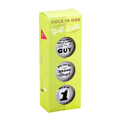 Noble Supply Co.™ Set of 3 Golf Balls