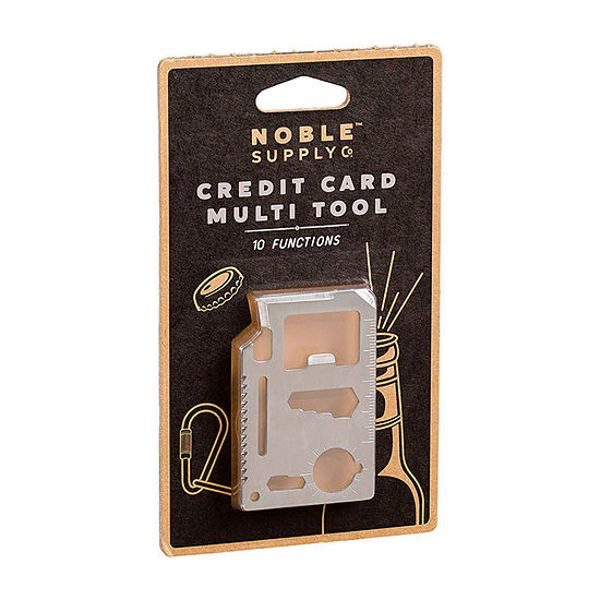 Noble Supply Co Credit Card Multi Tool