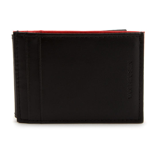 Van Heusen® VIVID Money Clip RFID Wallet