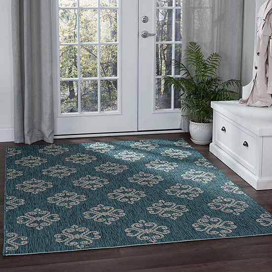 Tayse Vega Rectangular Indoor/Outdoor Rugs