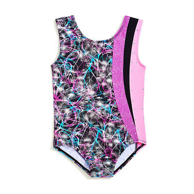 Jacques Moret Sleeveless Abstract Leotard - Preschool