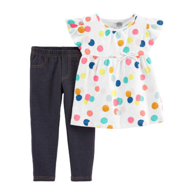 Carter's 2-pc. Legging Set-Baby Girls