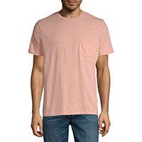 St. Johns Bay Mens Crew Neck Short Sleeve T-Shirt
