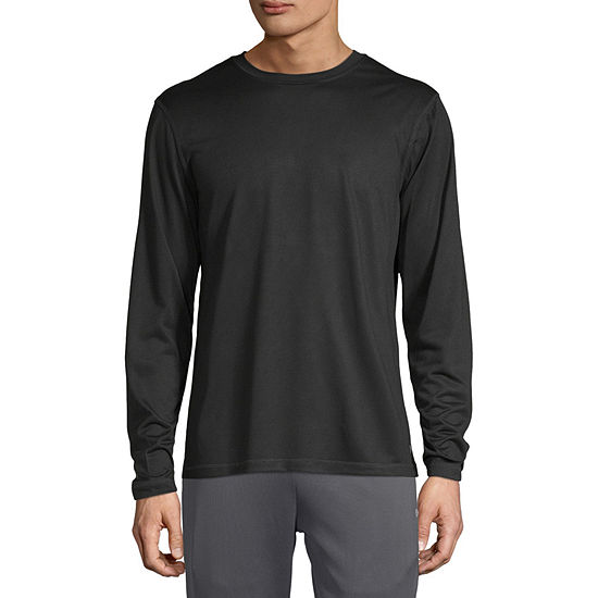Xersion Performance Mens Crew Neck Long Sleeve T-Shirt